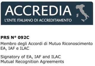 Logo di Accredia