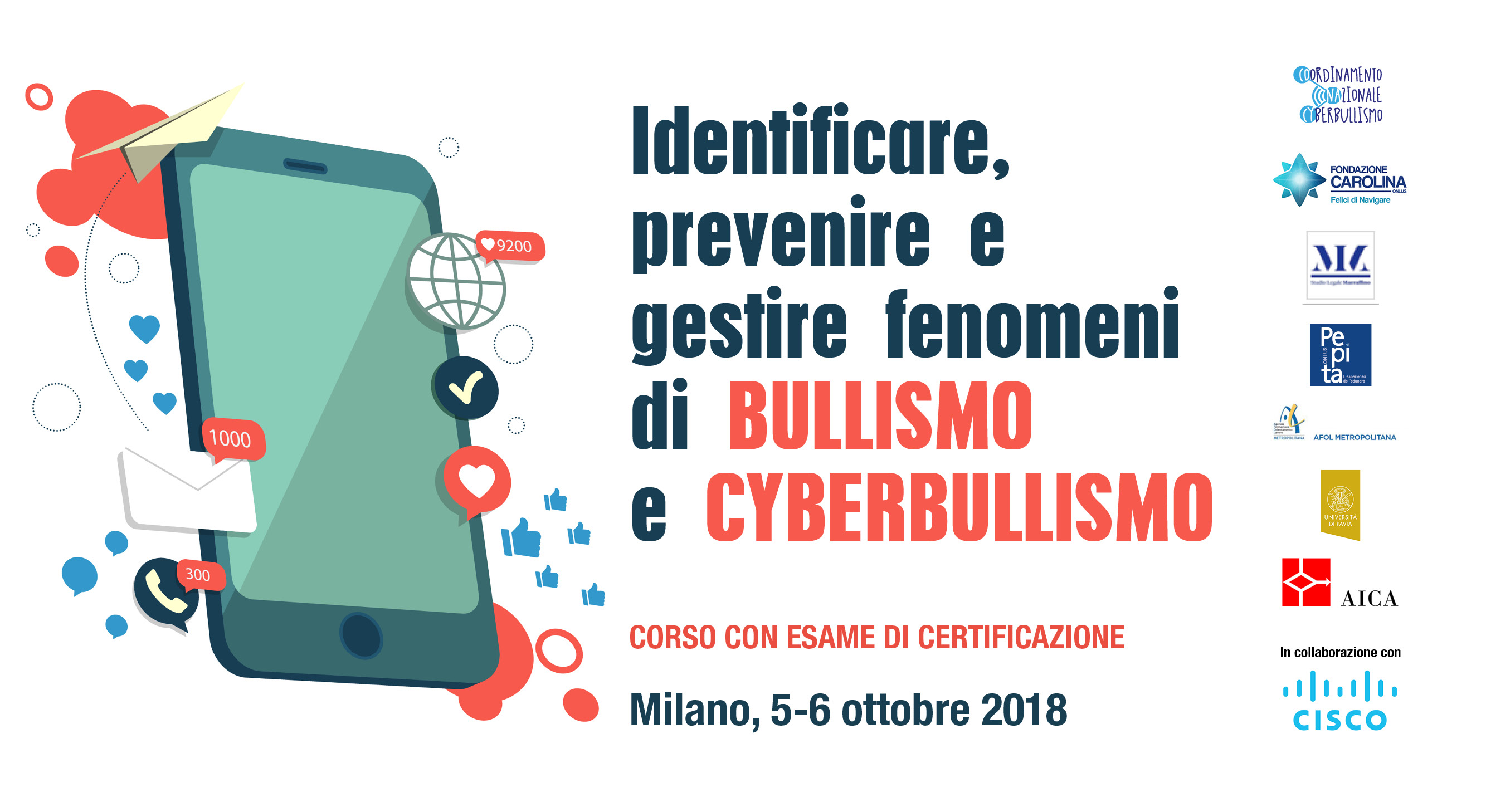 Identificare, prevenire e gestire fenomeni di BULLISMO e CYBERBULLISMO