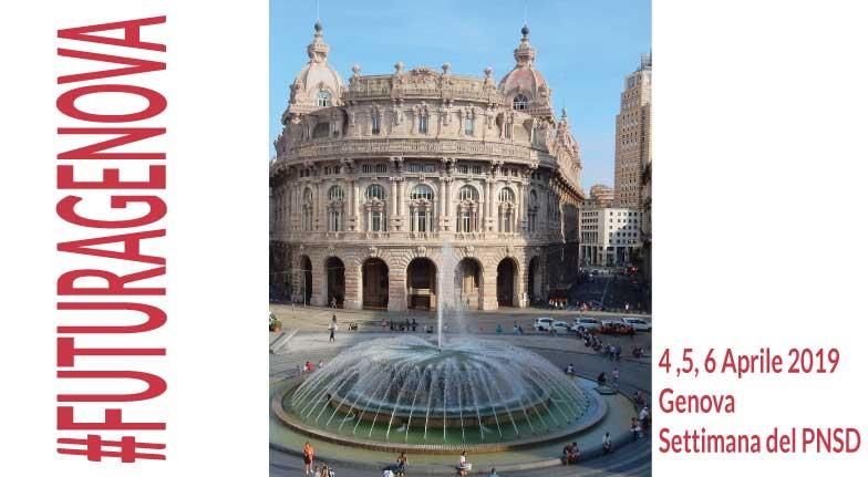 #FUTURAGENOVA | 3 giorni per il Piano Nazionale Scuola Digitale: formazione, dibattiti, esperienze