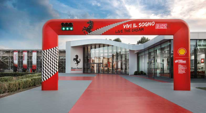 EPM AT WORK   PIT-STOP AL MUSEO FERRARI