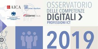 Osservatorio delle Competenze Digitali 2019 - professioni ICT