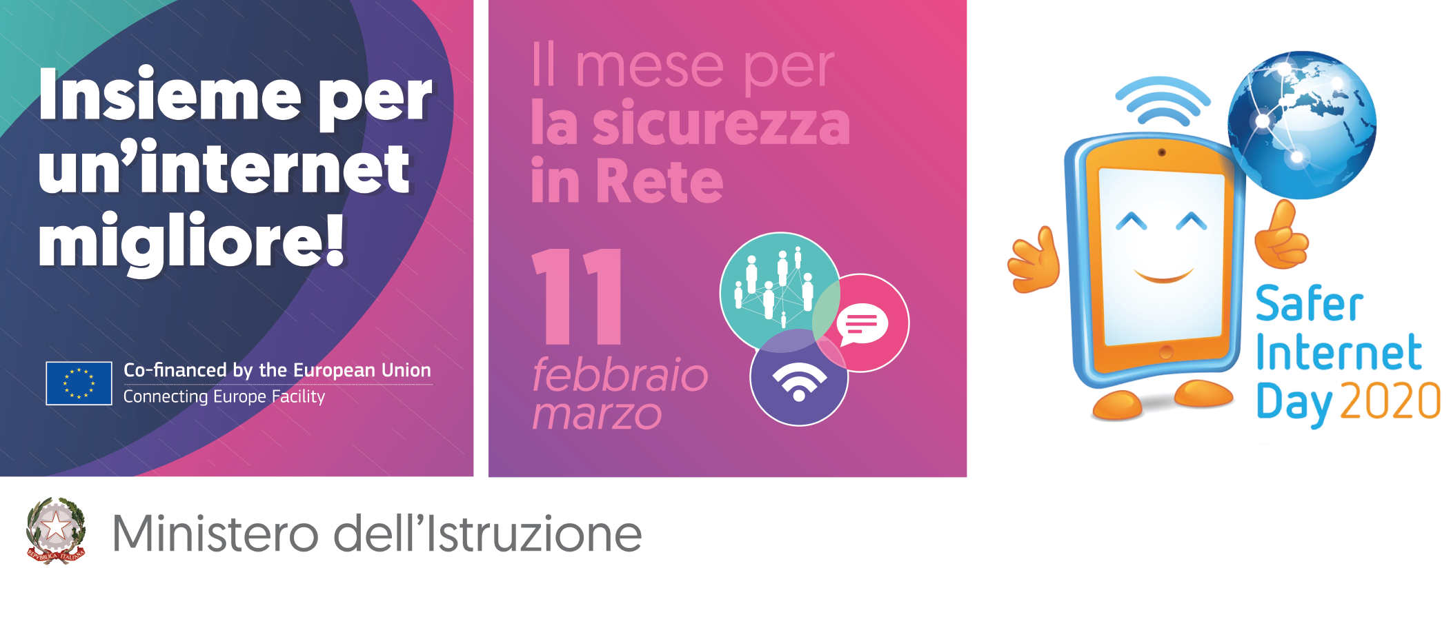 Together for a better internet: Safer Internet Day 2020 - 11 febbraio 2020
