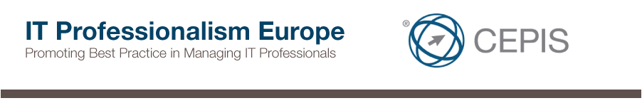 Conferenza: IT Professionalism Europe - Amsterdam 16 giugno 2016